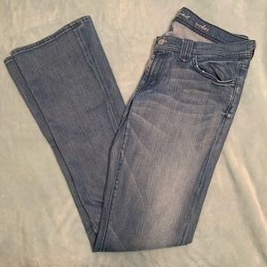 7 FOR ALL MANKIND bootcut flare jeans size 31